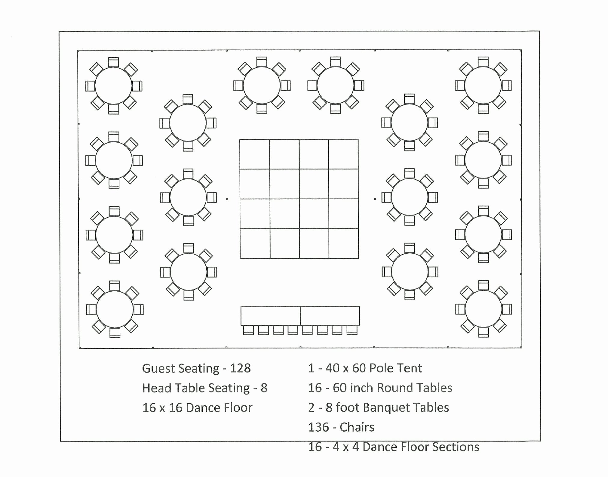free table reception wedding seating chart template