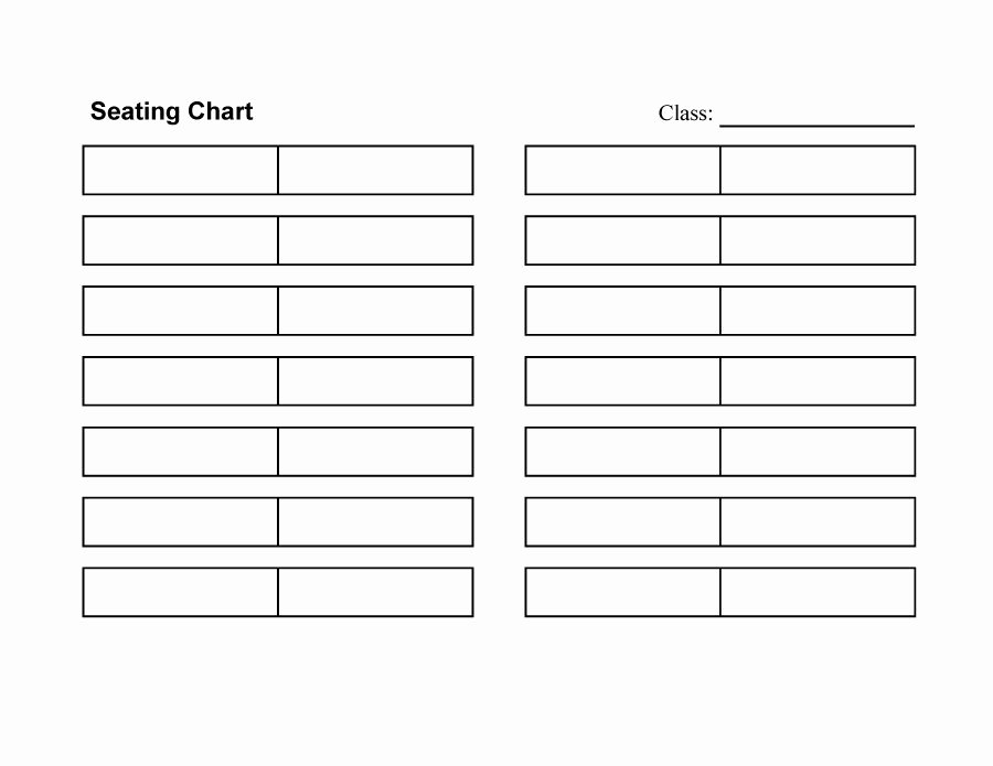 Seating Chart Template Word Inspirational 40 Great Seating Chart Templates Wedding Classroom More