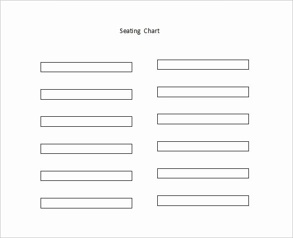Seating Chart Template Word Luxury Classroom Seating Chart Template 22 Examples In Pdf