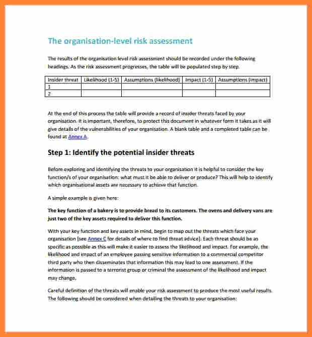 Security assessment Report Template Beautiful 7 Vulnerability assessment Report Template