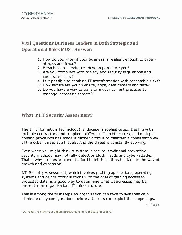Security assessment Report Template Fresh Needs assessment Report Template Educational Equipment