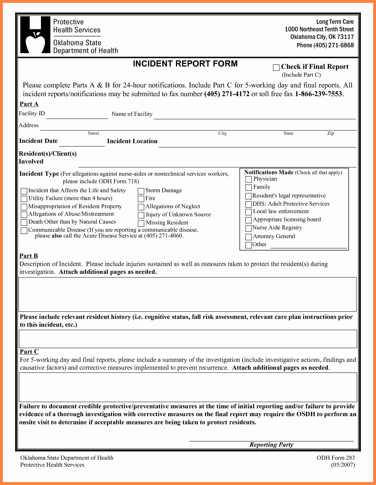 Security Incident Report Template Fresh 4 Security Incident Report Template Word