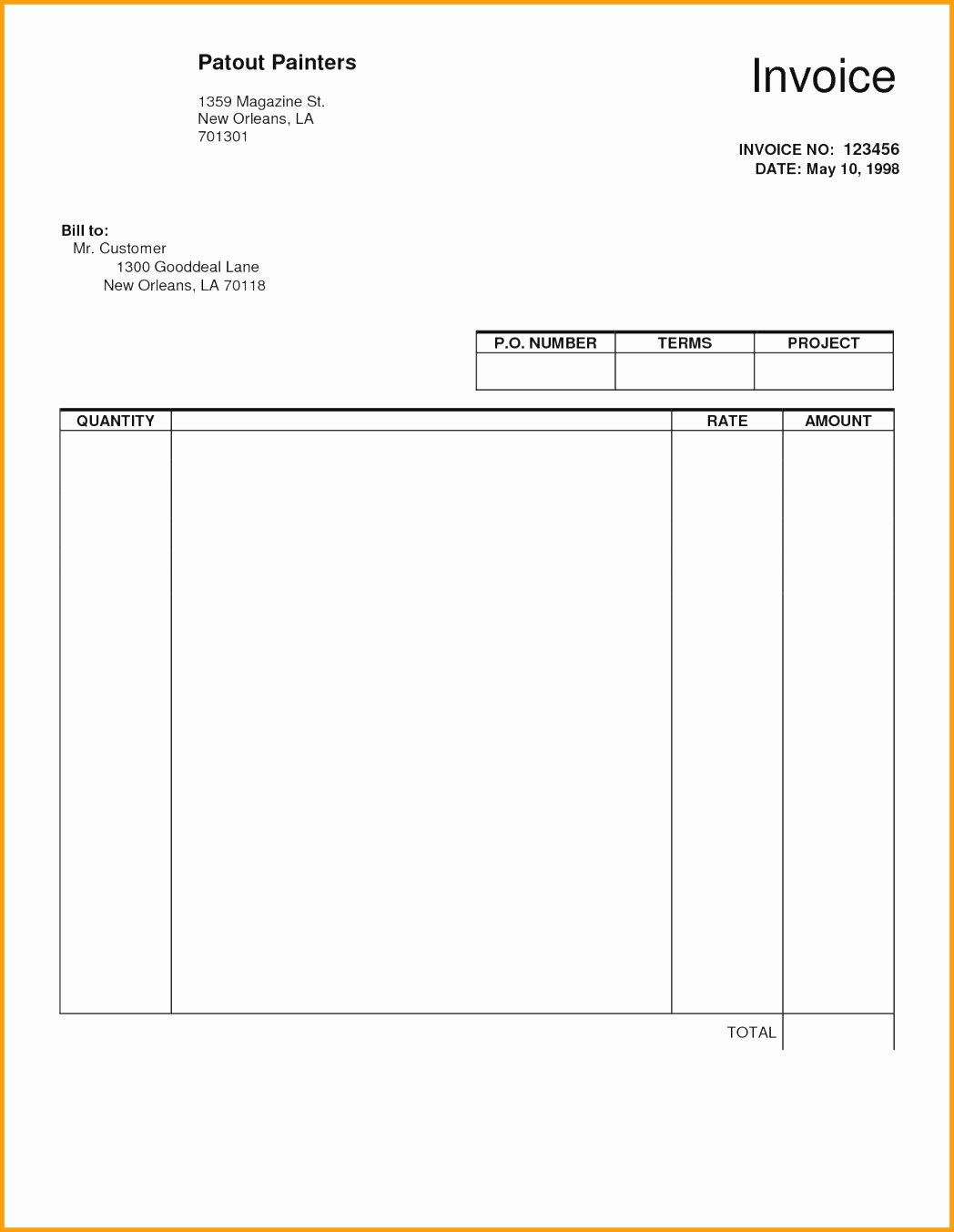 Self Employed Invoice Template Awesome Self Employed Invoice Template Word 10 Colorium Laboratorium