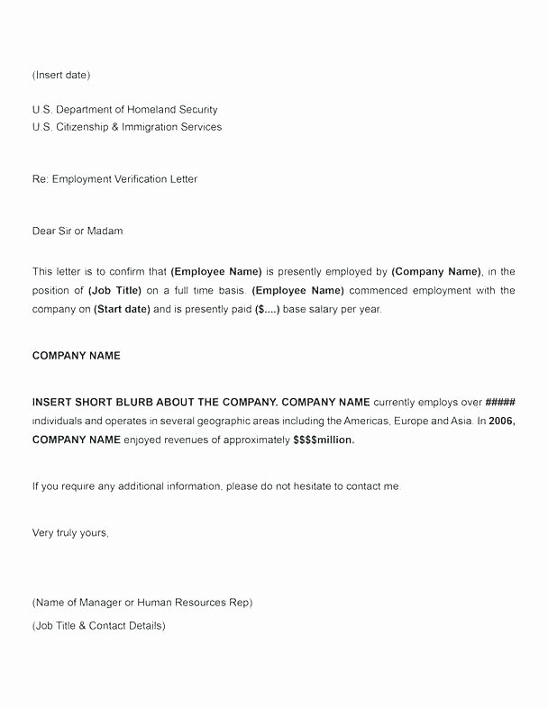 Self Employment Letter Template Lovely Proof In E Letter Sample Printable Employment