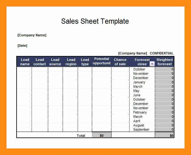 Sell Sheet Template Free Unique Sell Sheet Template