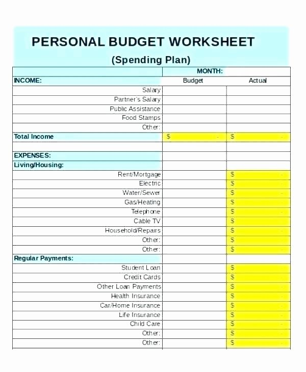 Semi Monthly Budget Template Unique Bi Monthly Bud Spreadsheet Weekly Bud Excel Sample