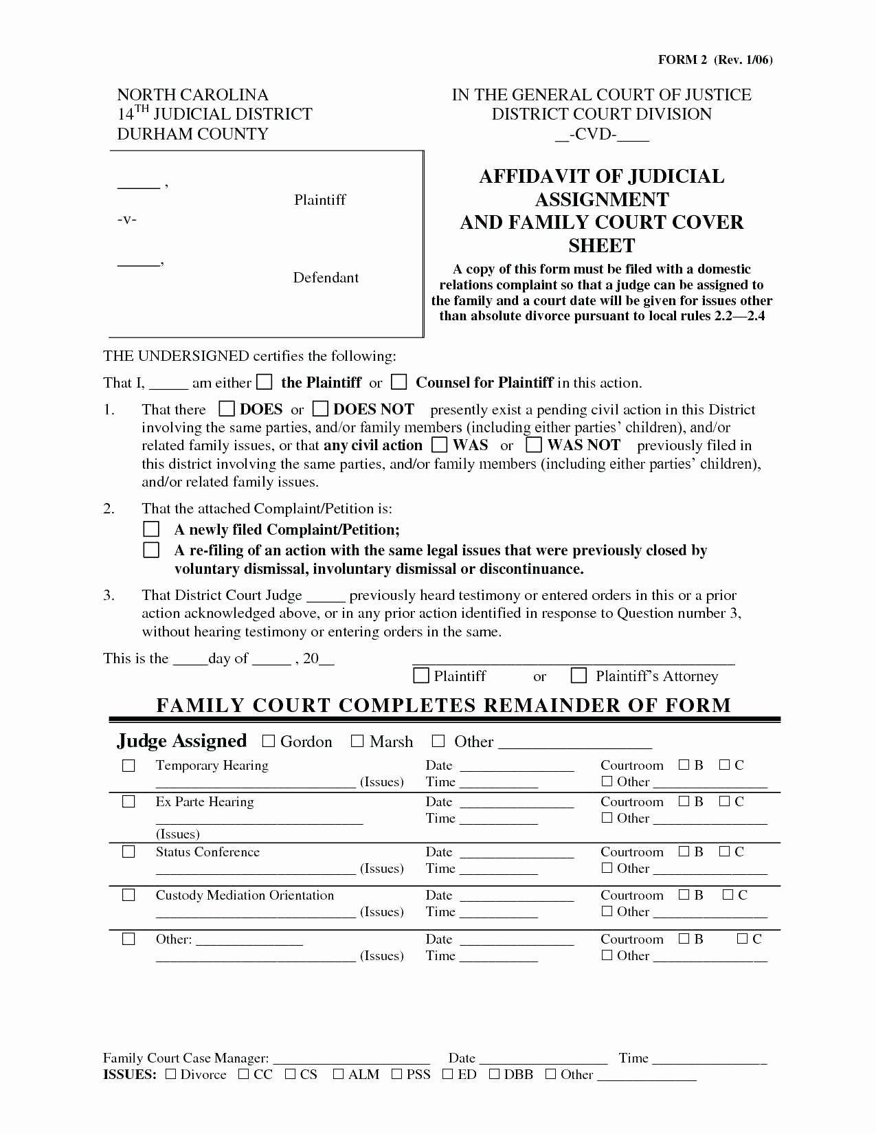 Separation Agreement Nc Template Beautiful Nc Divorce forms – Courselist