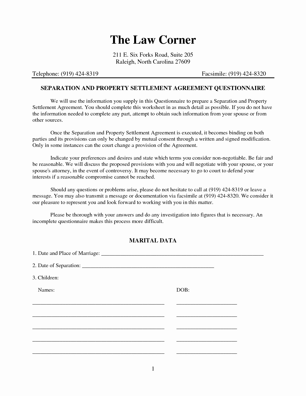 Separation Agreement Template Nc Lovely Best S Of Nc Separation Agreement Template Legal