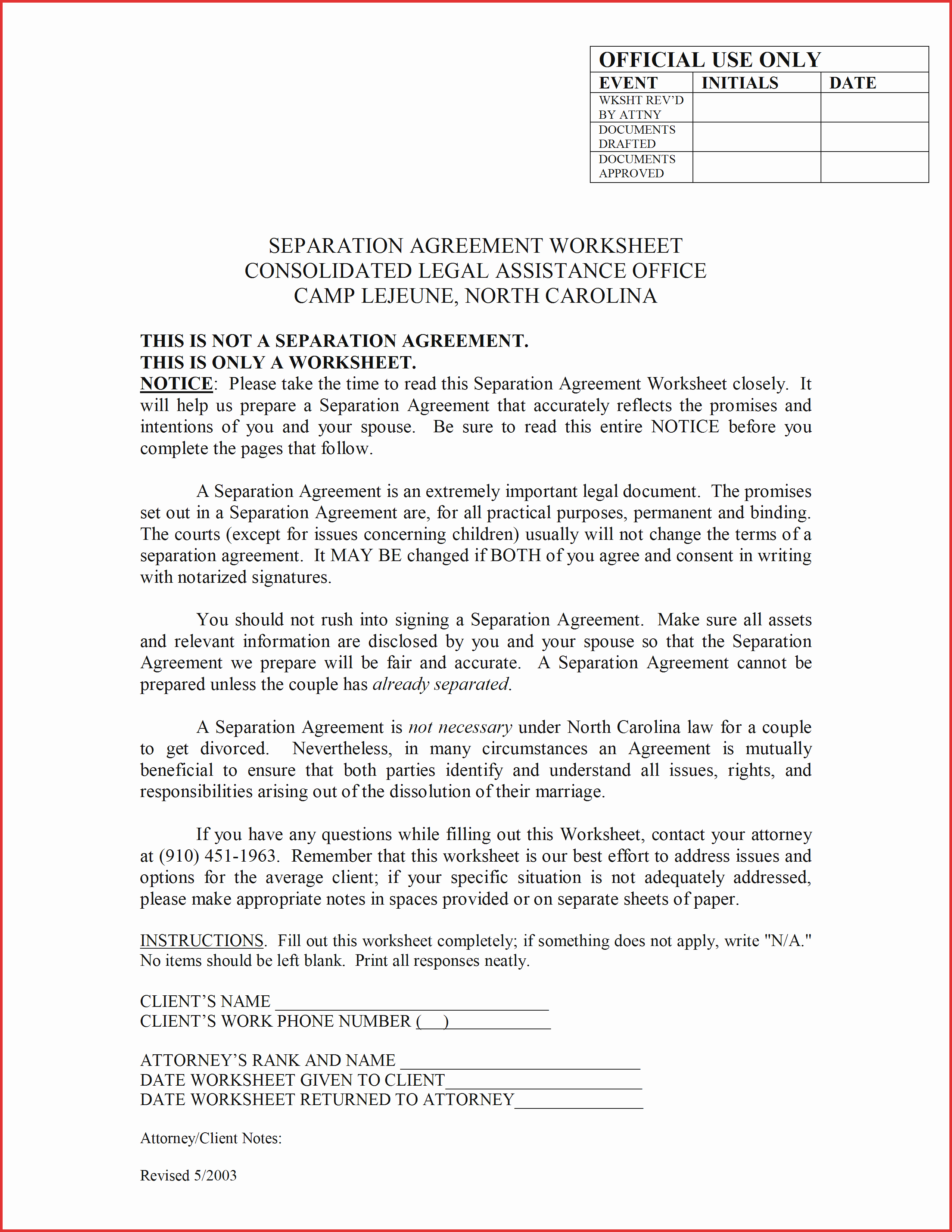 Separation Agreement Template Word Elegant Lovely Separation Agreement