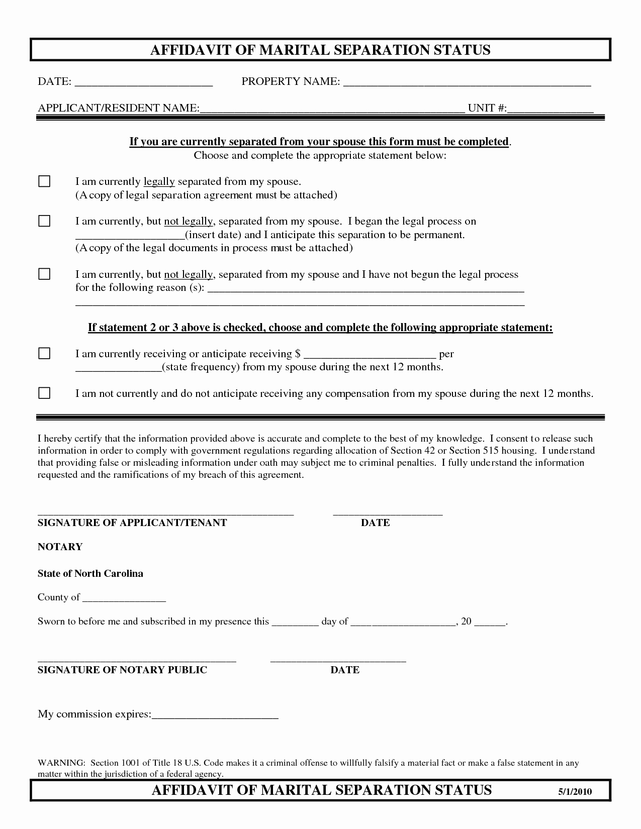 Separation Agreement Template Word Luxury Separation Agreement Template