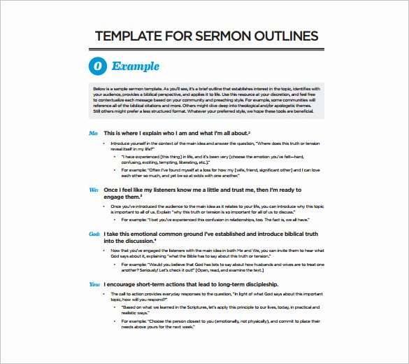 Sermon Template Microsoft Word Elegant Printable Sermon Template Bing Images