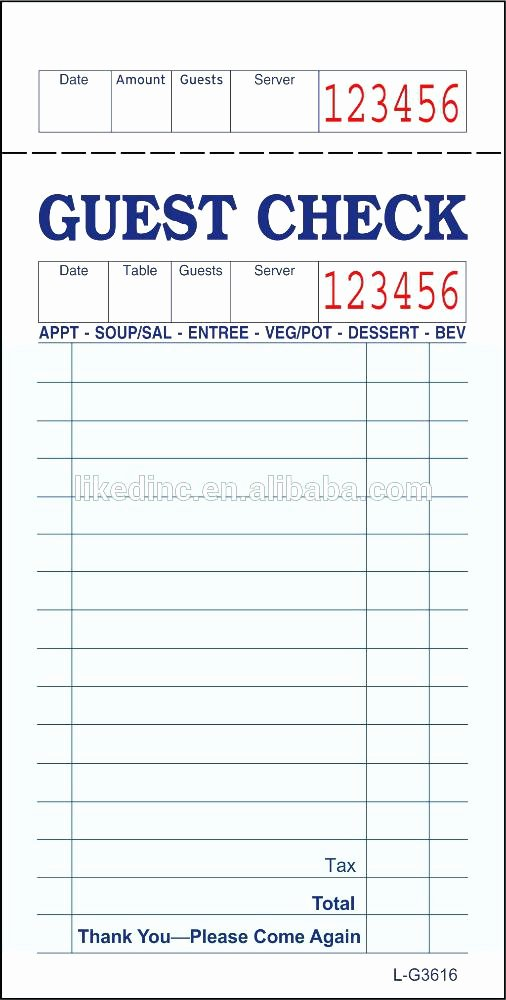 Server order Pad Template New Server order Pad – Ready2launch