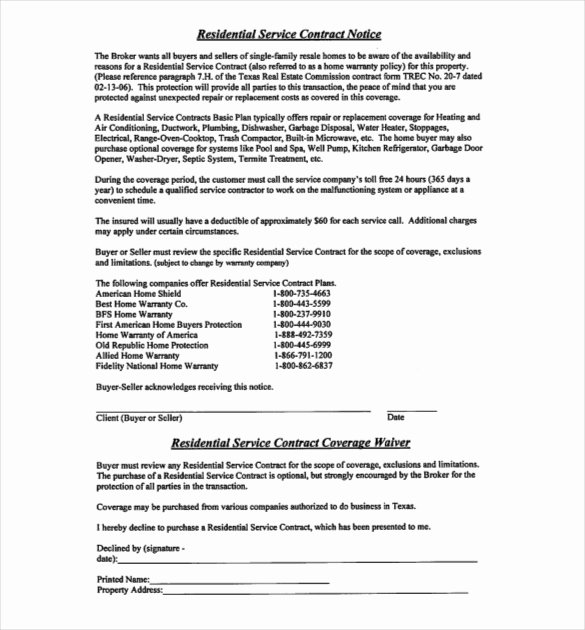 Service Contract Template Doc Awesome 20 Service Agreement Templates – Word Pdf