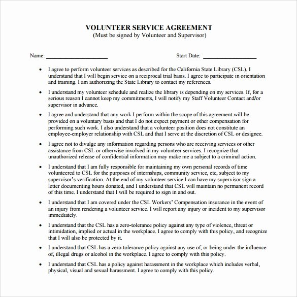 Service Contract Template Pdf New 7 Service Agreement Templates