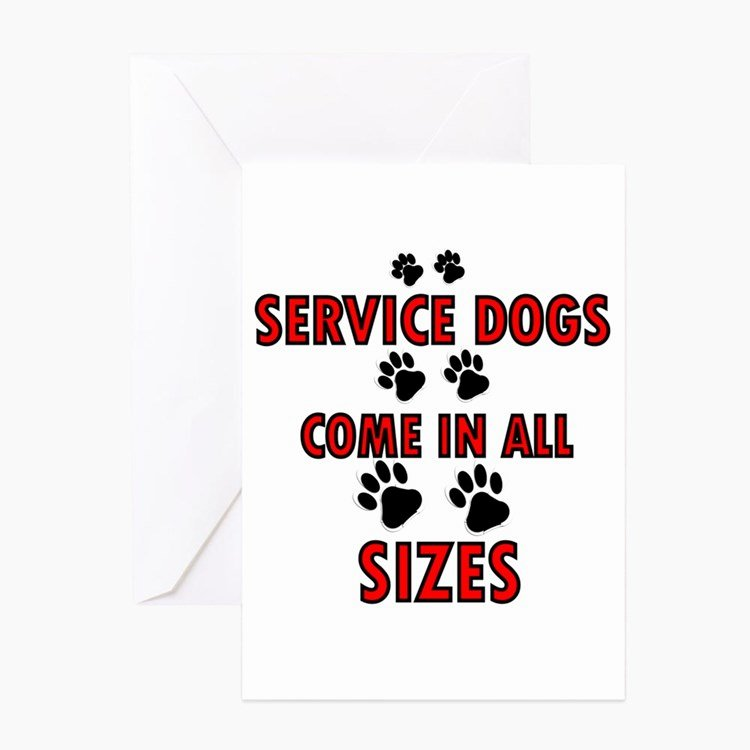 Service Dog Card Template Elegant Service Dog Greeting Cards