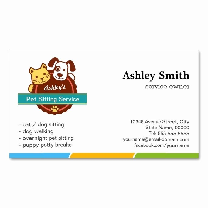 Service Dog Card Template New 2185 Best Images About Animal Pet Care Business Card
