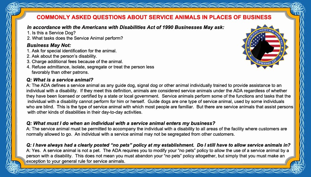 Service Dog Certificate Template Lovely 95 Service Dog Badge Template Emotional Support Animal