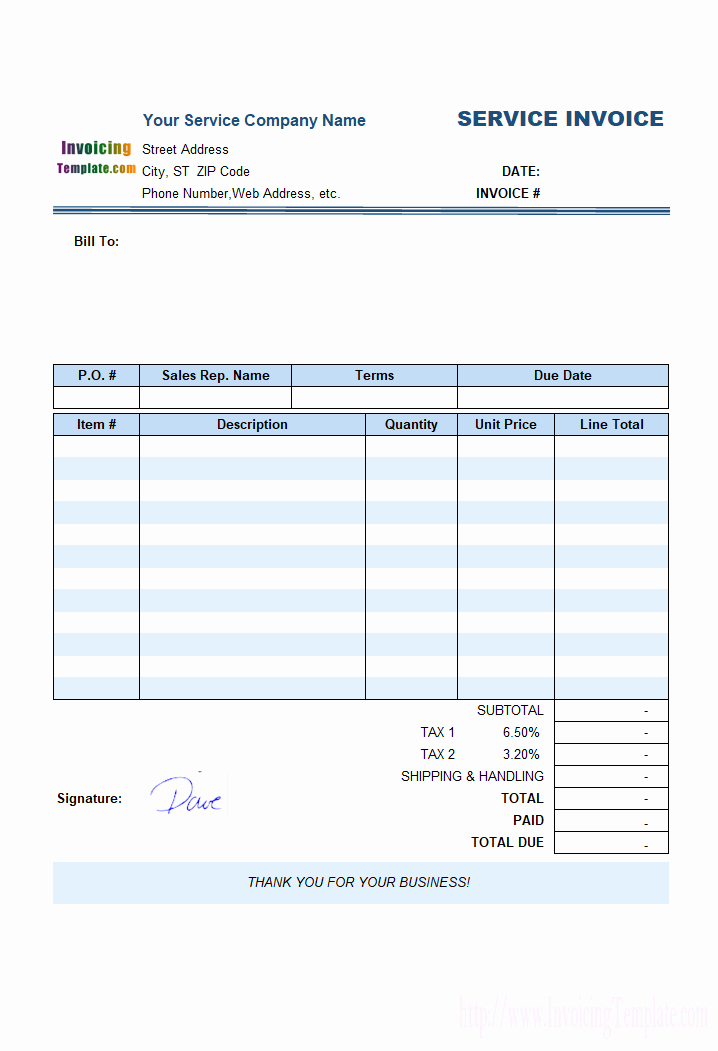 Service Invoice Template Free Beautiful Free Invoice Template for Hours Worked 20 Results Found