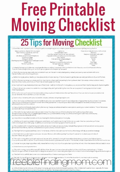 Shipping Packing List Template Lovely Moving Checklist Printable On Pinterest