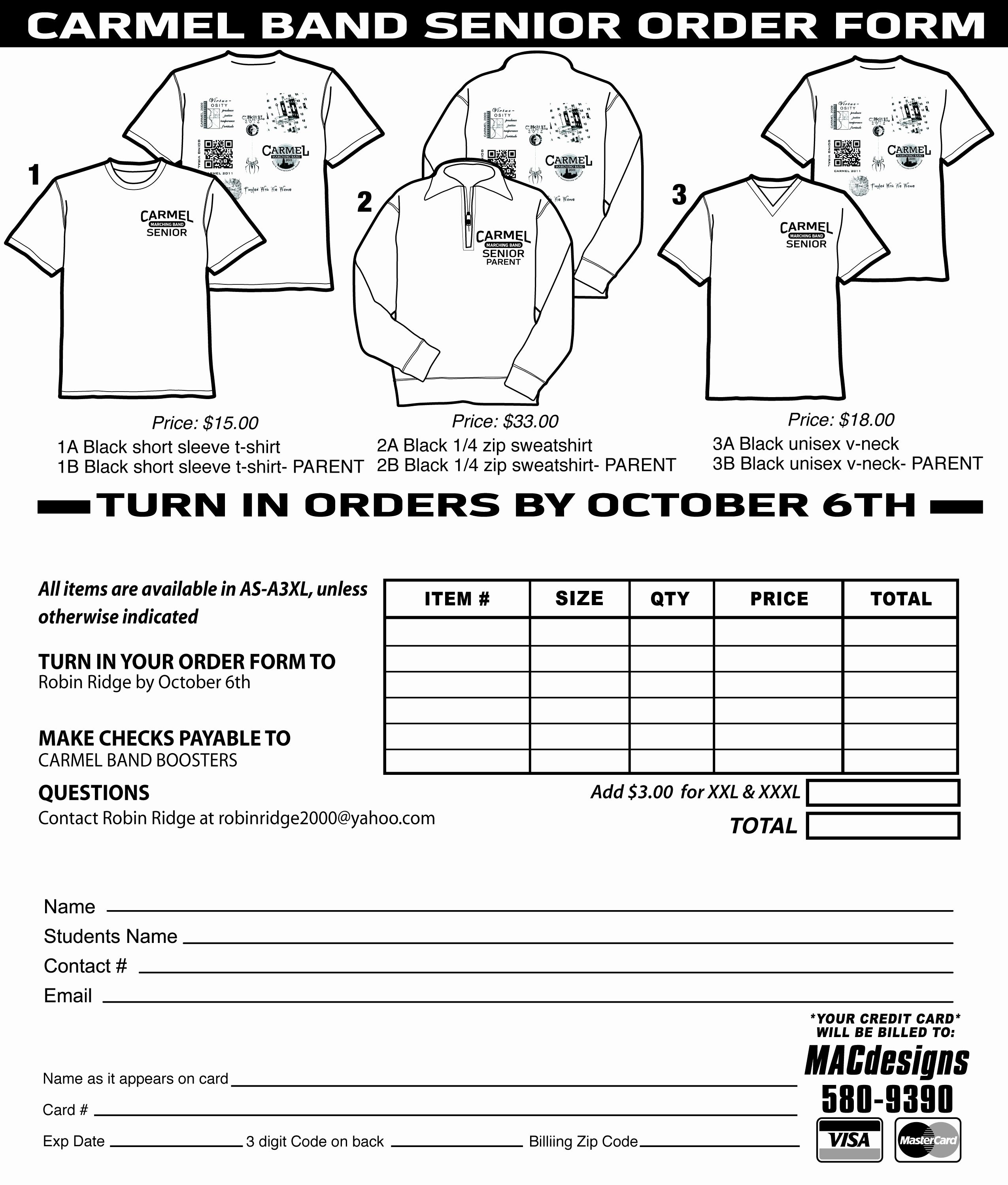Shirt order forms Template Inspirational T Shirt order form Template