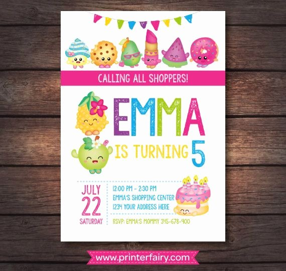 Shopkins Invitations Template Free Best Of Best 25 Shopkins Invitations Ideas On Pinterest