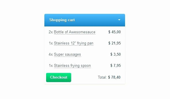 Shopping Cart HTML Template Awesome Responsive E Merce Shopping Cart Plugin with Template