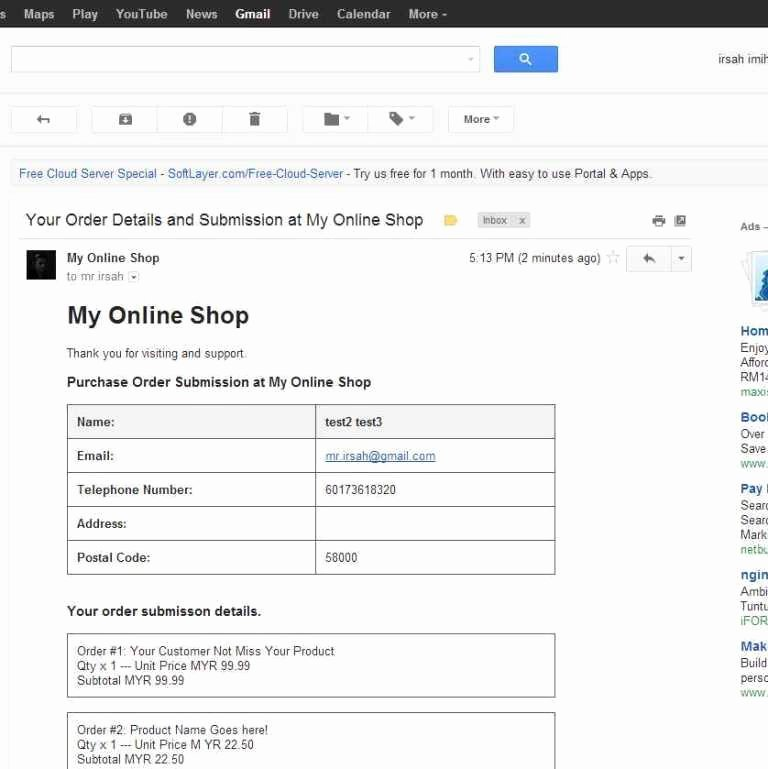 Shopping Cart HTML Template Lovely Email Invoice Data Setting Up Your Blogger Store Shop
