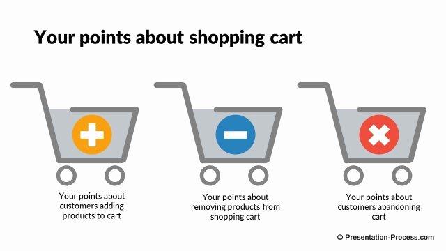 Shopping Cart HTML Template Lovely Flat Design Templates Powerpoint Customer & Sales