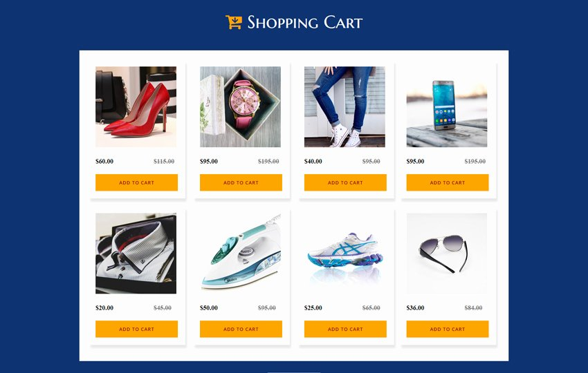 Shopping Cart HTML Template Lovely Free Shopping Cart Template Shopping Cart Free13 12