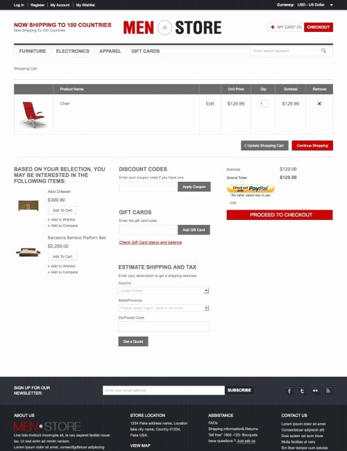 Shopping Cart HTML Template Unique General Magento Go Template Go Ustore