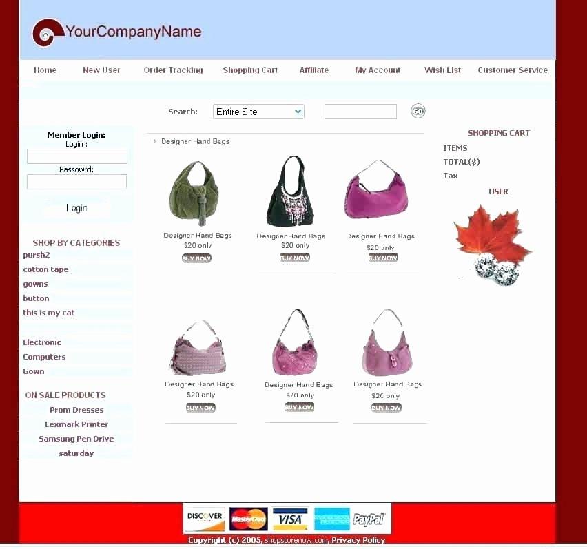Shopping Cart HTML Template Unique Line Shopping Website Design Template Home Shoppe Cart