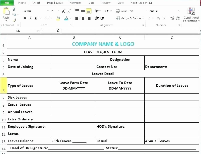 Sick Leave form Template Best Of Employee Annual Leave form Template Free Templates Sick Sample