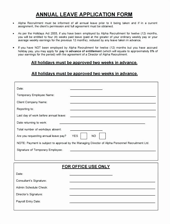 Sick Leave form Template Luxury Employee Sick Leave form Template Free Templates south Africa