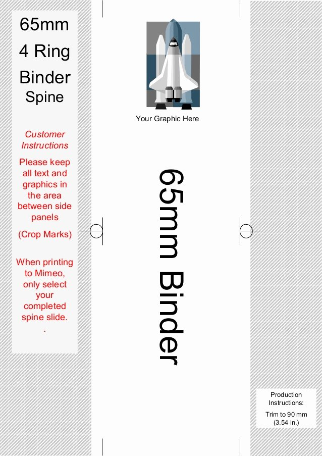 Side Of Binder Template Awesome Spine Templates for Your 4 Ring Binders