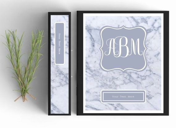 Side Of Binder Template Fresh Best 20 Monogram Binder Covers Ideas On Pinterest