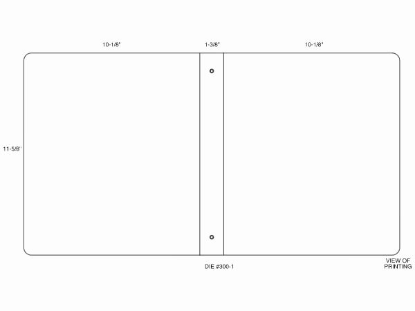 custom ring binder template