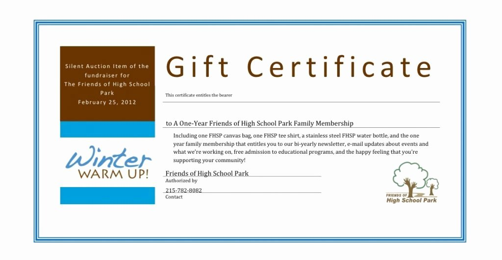 Silent Auction Certificate Template Luxury Best Ideas for Silent Auction Certificate Template with