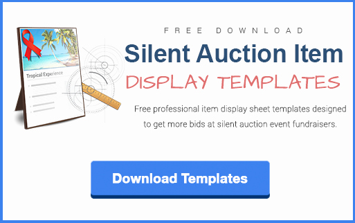 Silent Auction Certificate Template New Download Silent Auction Item Display Sheet Templates