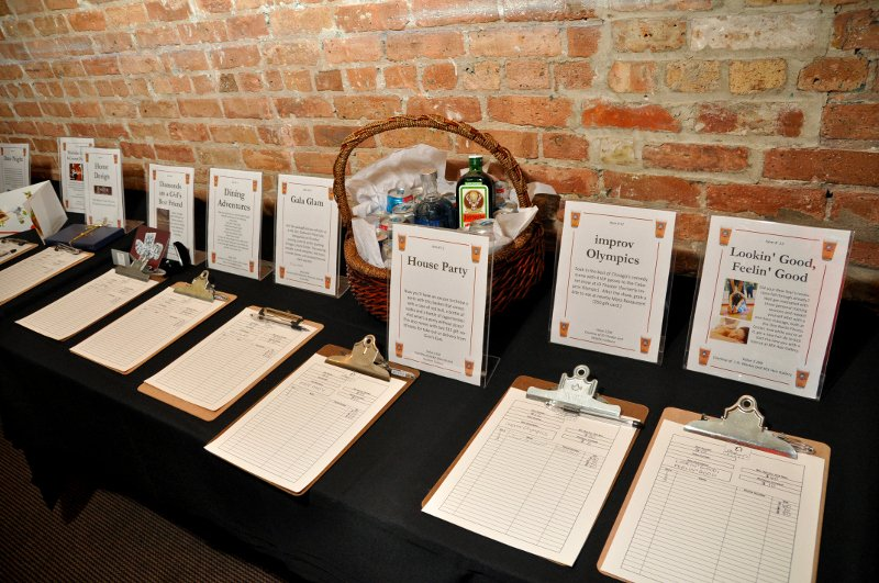 Silent Auction Display Template Awesome Silent Auction Display Template thevillas