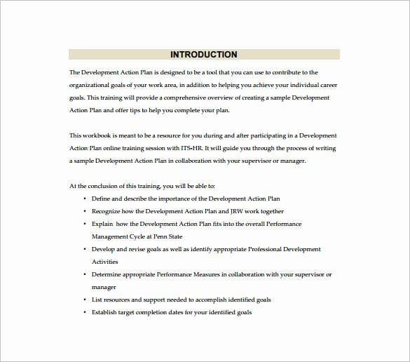 Simple Action Plan Template Beautiful Simple Action Plan Template 16 Free Sample Example