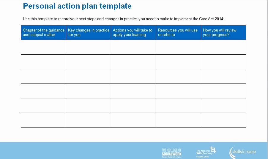 Simple Action Plan Template New 3 Simple Action Plan Templates Word Excel Pdf