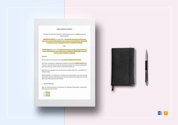 Simple Advertising Contract Template Beautiful 14 Vendor Contract Templates – Samples Examples & format