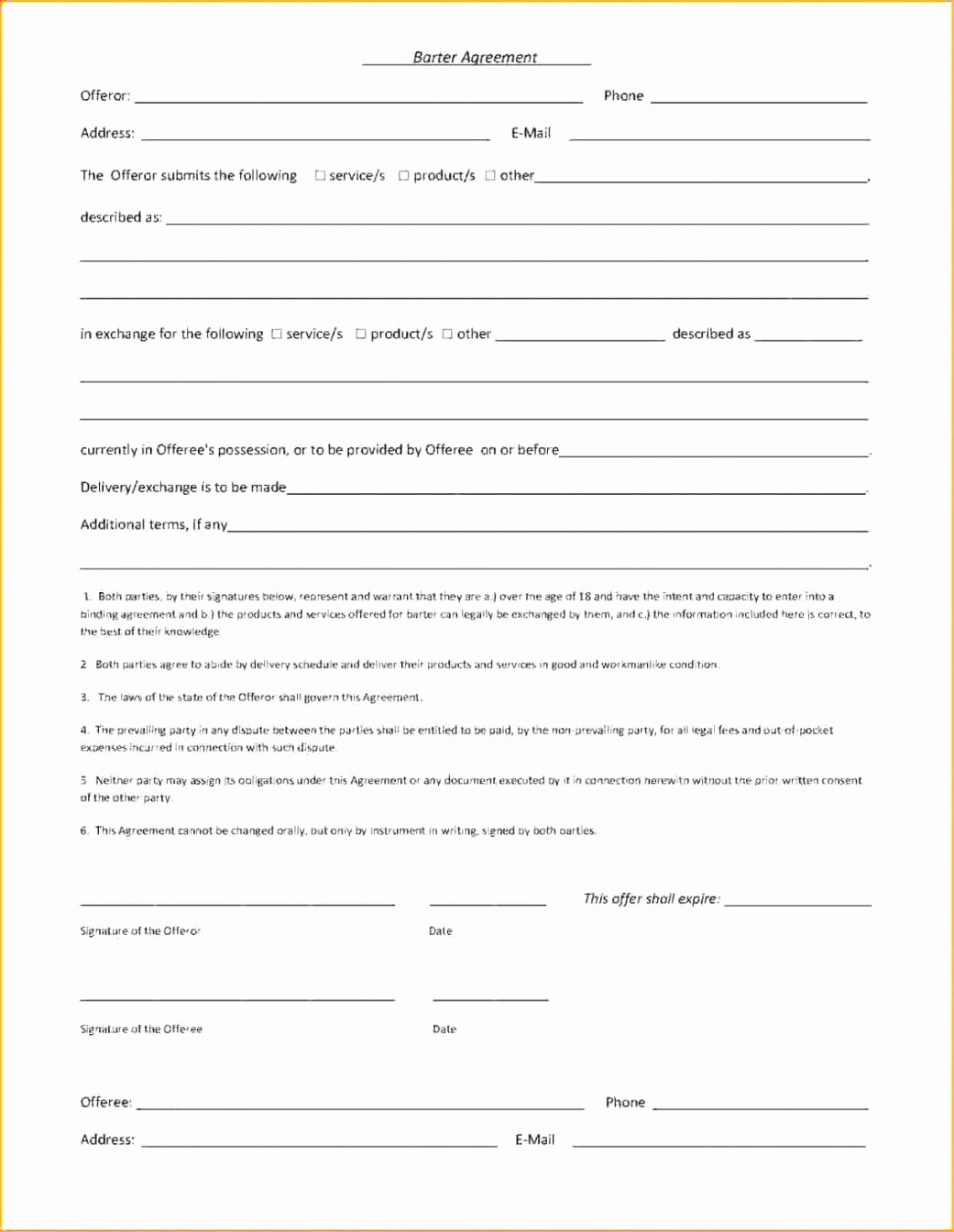Simple Advertising Contract Template New the Sample Of Simple Advertising Agreement Template