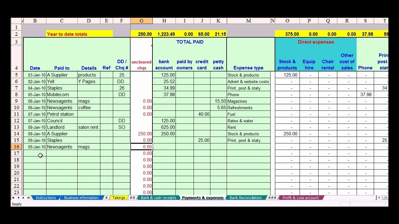 Simple Bookkeeping Spreadsheet Template Elegant Simple Bookkeeping Spreadsheet Template Free Google