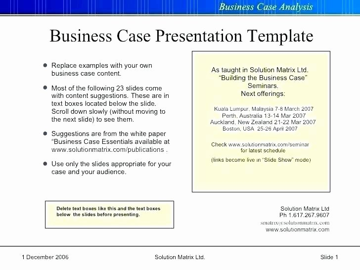 Simple Business Case Template Luxury Business Case Template Word Sample Analysis Documents In