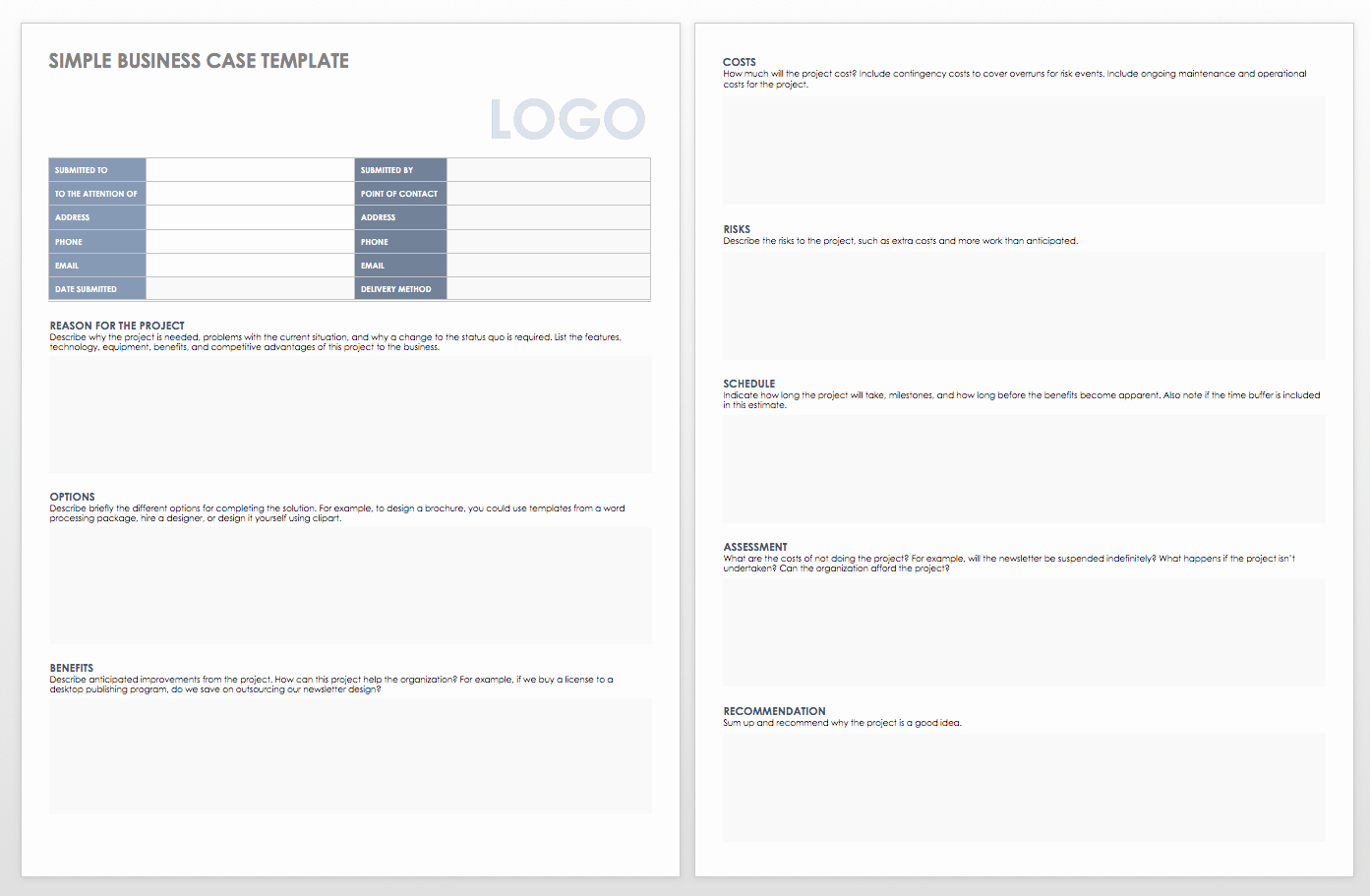Simple Business Case Template Unique Simple Will Template Picture