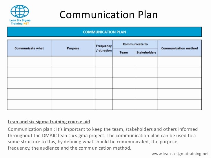 Simple Communication Plan Template Beautiful Munications Plan Template