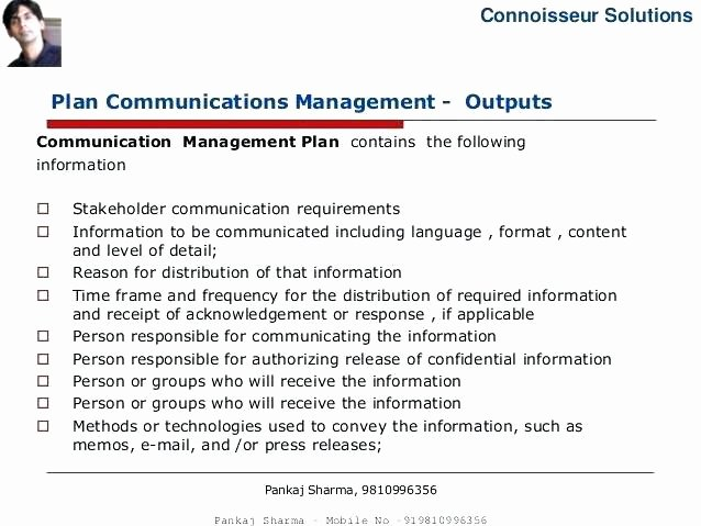 Simple Communication Plan Template Best Of Simple Munication Plan Template Simple Munications
