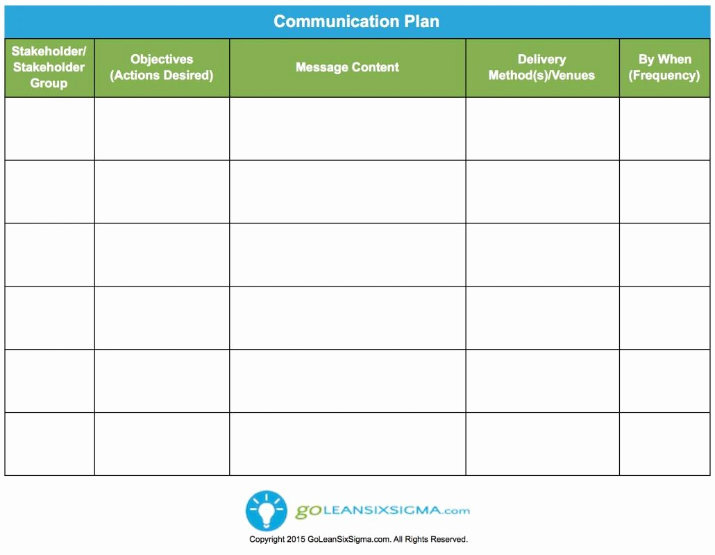 Simple Communication Plan Template Luxury Simple Test Plan Template