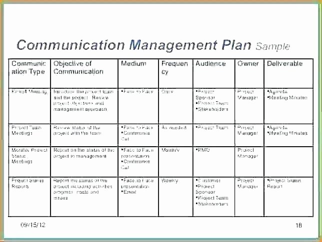 Simple Communication Plan Template New Free Simple Project Templates Munication Plan Template